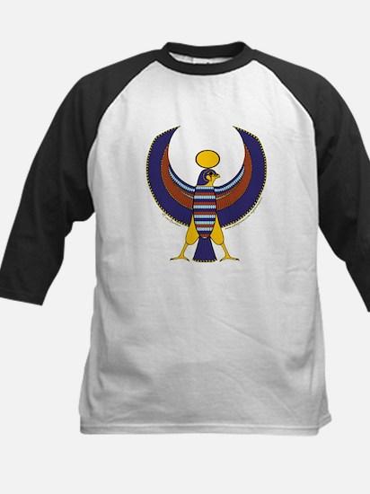 Egyptian Falcon Hieroglyphic Kids Baseball Jersey