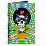 Psychedelic Skull Journal