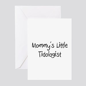 Mommy's Little Tidologist Greeting Cards (Pk of 10