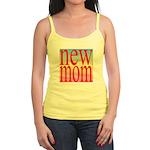 109 mom [ red rainbow bac Jr. Spaghetti Tank