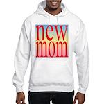 109 mom [ red rainbow bac Hooded Sweatshirt