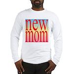 109 mom [ red rainbow bac Long Sleeve T-Shirt