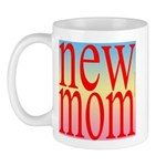 109 mom [ red rainbow bac Mug