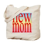 109 mom [ red rainbow bac Tote Bag