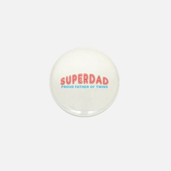Twins SuperDad Mini Button