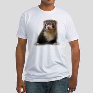 Young Ferret Fitted T-Shirt