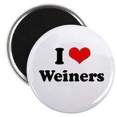 I love weiners Magnet