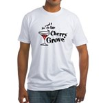 Gay Ole Time Cherry Grove Fitted T-Shirt