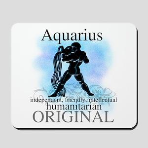 Aquarius Water Bearer Mousepad