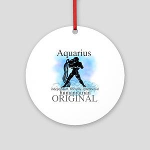 Aquarius Water Bearer Ornament (Round)