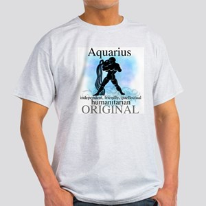 Aquarius Water Bearer Light T-Shirt