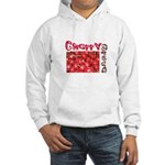 Bing Cherry Grove Hooded Sweatshirt