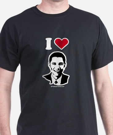 I heart Barack Obama T-Shirt