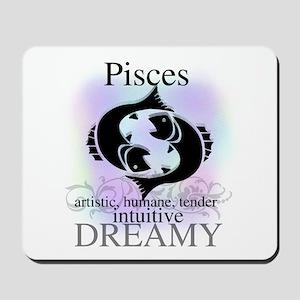 Pisces the Fish Mousepad