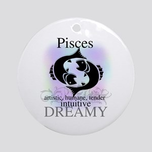 Pisces the Fish Ornament (Round)