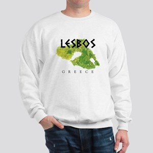 LESBOS GREECE Sweatshirt