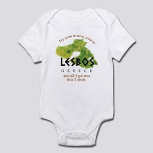 LESBOS GREECE Infant Bodysuit