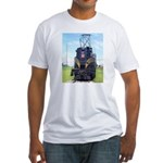 PRR GG1 4800-FRONT Fitted T-Shirt