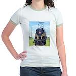 PRR GG1 4800-FRONT Jr. Ringer T-Shirt