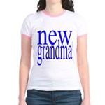 109a. new grandma[blue] Jr. Ringer T-Shirt