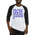 109a. new grandma[blue] Baseball Jersey