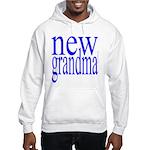 109a. new grandma[blue] Hooded Sweatshirt