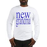 109a. new grandma[blue] Long Sleeve T-Shirt