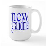109a. new grandma[blue] Large Mug