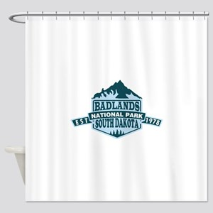 Badlands - South Dakota Shower Curtain
