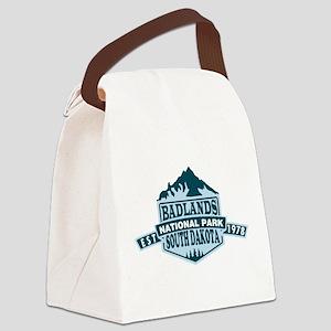 Badlands - South Dakota Canvas Lunch Bag