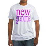109a grandma[pinkpurple] Fitted T-Shirt