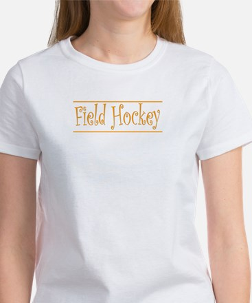 Hockey Goalie - Orange Women's T-Shirt