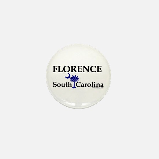 Florence South Carolina Mini Button