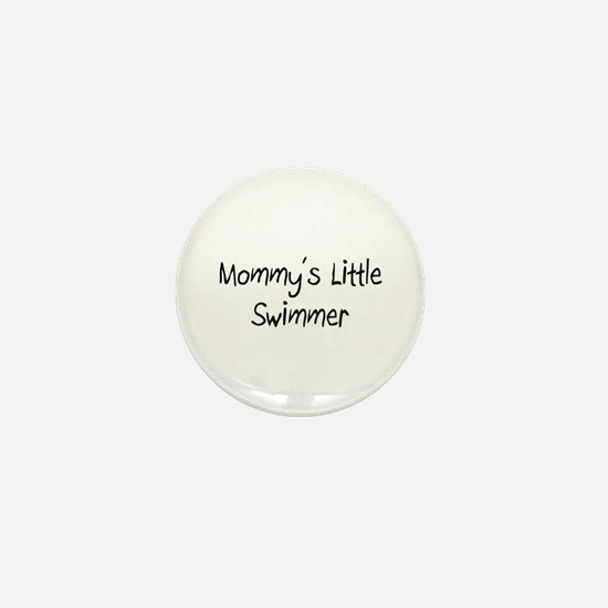 Mommy's Little Swimmer Mini Button