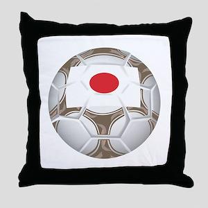 Japan Championship Soccer Throw Pillow
