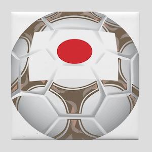 Japan Championship Soccer Tile Coaster