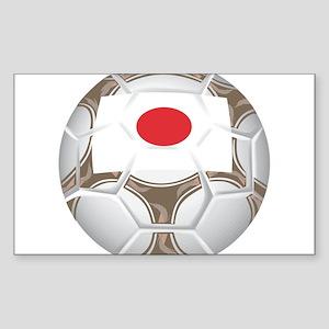 Japan Championship Soccer Rectangle Sticker