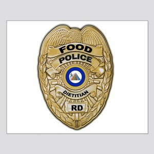 Food Police Small Poster