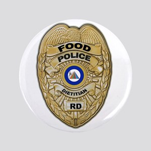 """Food Police 3.5"""" Button"""