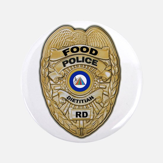 "Food Police 3.5"" Button"
