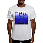 108a. new grandpa [blue grade Ash Grey T-Shirt