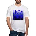108a. new grandpa [blue grade Fitted T-Shirt
