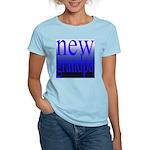 108a. new grandpa [blue grade Women's Pink T-Shirt