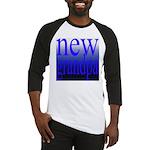 108a. new grandpa [blue grade Baseball Jersey