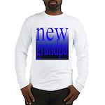 108a. new grandpa [blue grade Long Sleeve T-Shirt