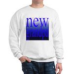 108a. new grandpa [blue grade Sweatshirt