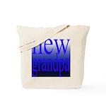 108a. new grandpa [blue grade Tote Bag