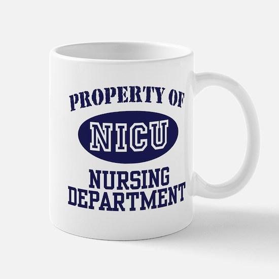 Property of NICU Nursing Department Mug