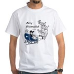 Merry Christmukkah White T-Shirt