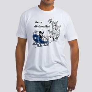 Merry Christmukkah Fitted T-Shirt